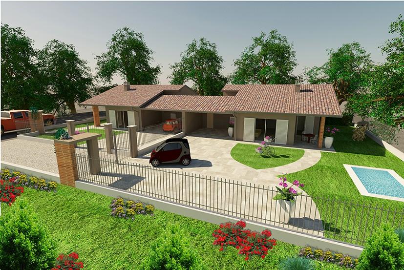 Villa Indipendente su 3 lati in vendita Roasio